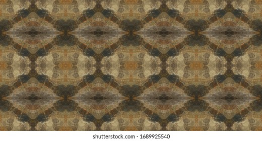 Seamless colorful background in geometric ornamental style