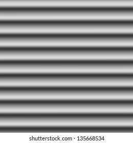 Seamless corrugated metal background