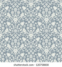 Seamless damask pattern for background design. Vector file in my portfolio.