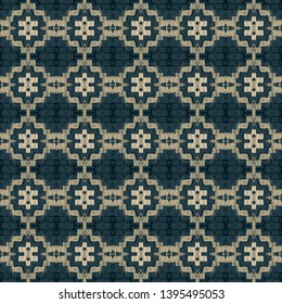 Seamless embroidery pattern. Ikat ethnic ornament. Seamless striped pattern. Geometric in Aztec style. Figure tribal embroidery.Tribal ethnic texture. Arabian, Scandinavian,Gypsy,Mexican,folk pattern.