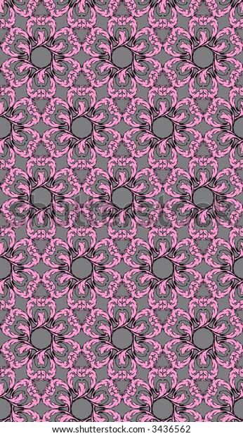 Seamless Floral Pattern, JPEG