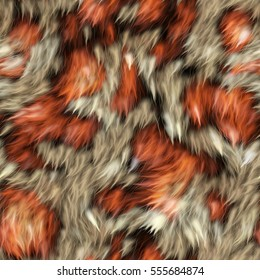 Seamless Fur Fabric Texture