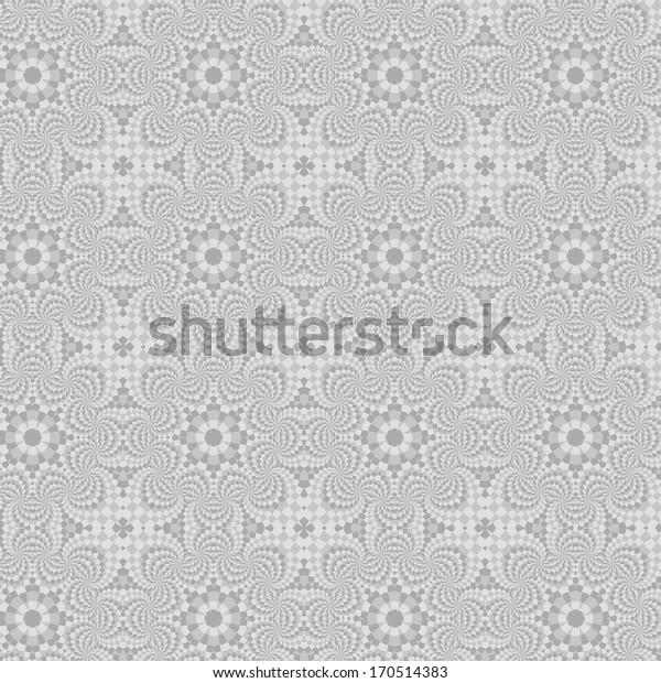 seamless geometric background with grunge, fabric, interior