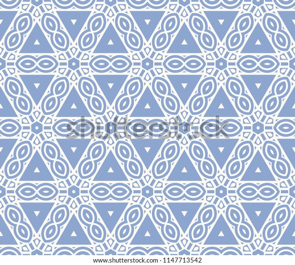 Seamless geometric line pattern in fashion style. for wallpaper, packaging, business card, fabric print.