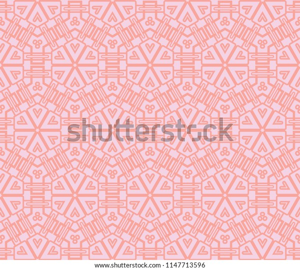 Seamless geometric modern pattern.   abstract classical background