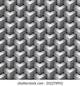 Seamless geometric pattern background.