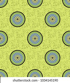 Seamless geometrical pattern for textile fabric