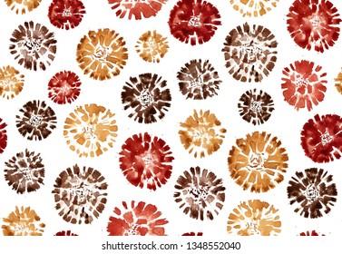 Shibori Circle Images, Stock Photos & Vectors   Shutterstock