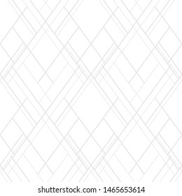Seamless hatch pattern. Abstract light monochrome background with cross lines. Raster version