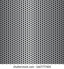 seamless illustration of speaker grill texture