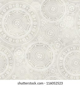 Seamless lace pattern on paper texture