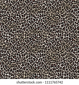 Seamless Leopard Pattern for Textile Print