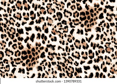 Seamless Leopard Pattern,Fashionable leopard seamless, Leopard skin print,wild animal pattern background or texture
