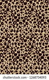 seamless leopard skin pattern. leopard spots colorful
