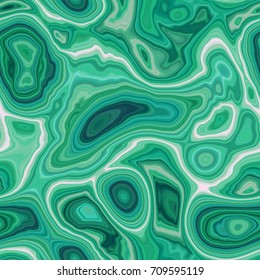 Seamless malachite surface. The cut mineral. Beautiful texture green stone. Agate surface.