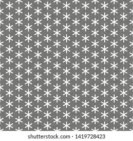 Seamless metal grille.Big asterisk grille isolated on white background.Diamond plate asterisk shape seamless