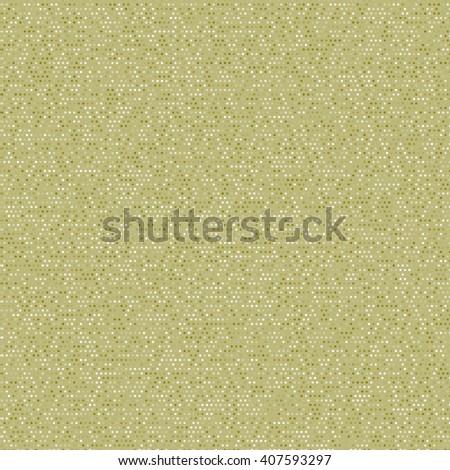fb217287a3a3 Seamless mixed khaki polka dot pattern. Vintage polka dot paper. Digital  paper for scrapbook. Classic polka dot seamless background. - Illustration