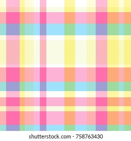 Seamless multicolored pattern. Background. Abstract geometric wallpaper of the surface. Pastel colors. Print for polygraphy, posters, t-shirts and textiles. Doodle for design