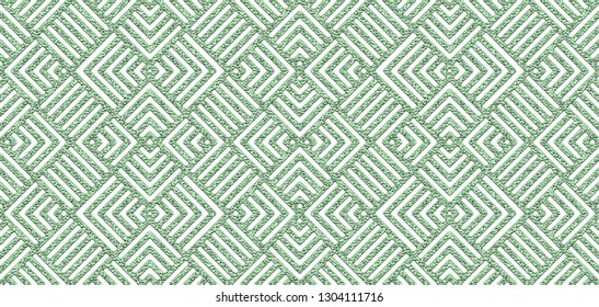Seamless neo mint abstract square lines geometric pattern
