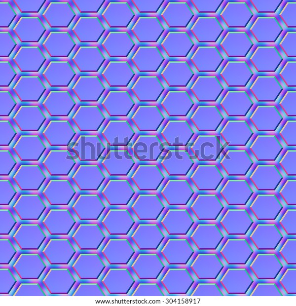 Seamless Normal Map Texture Ready Use Stock Illustration 304158917
