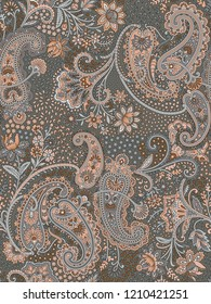 Seamless Paisley  Back ground design