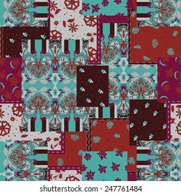 Seamless paisley pattern for fashion eastern design