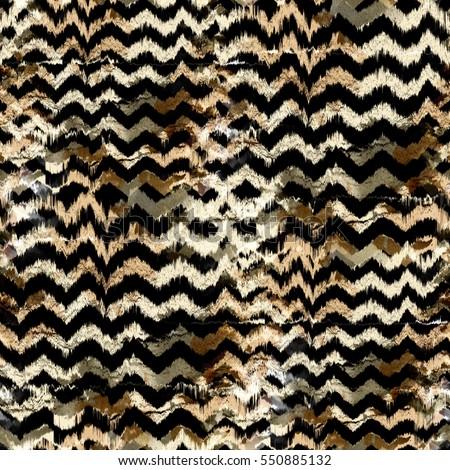 Seamless pattern animal design