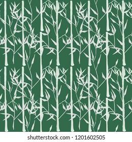"""Seamless pattern """"Bamboo""""."""
