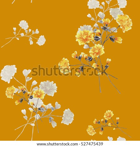 Royalty Free Stock Illustration Of Seamless Pattern Beige Yellow
