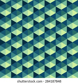 Seamless pattern. Bright optical illusion. Op art background for your design.