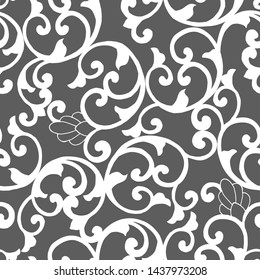 seamless pattern in the classical style