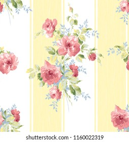Seamless pattern with flowers,walpaper