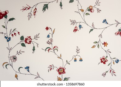 Seamless pattern made of colorful flower. Wallpaper floral texture background.