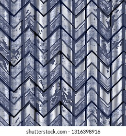 seamless pattern. Modern stylish   abstract texture. Repeating geometric tiles from striped elements  print with hand drawn chevron texture. Trendy graphic design.