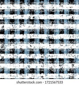 Seamless pattern. Modern stylish abstract texture. Geometric brush effect design.
