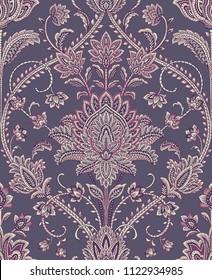 Seamless Pattern : Paisley Style