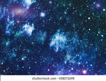 Seamless pattern of starry sky