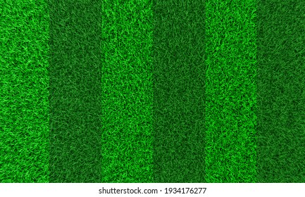 Seamless pattern top views Fresh green lawns for background, backdrop, or wallpaper. Plains and grasses of various sizes are neat and tidy. The lawn surface is evenly shining and bright.3D Rendering