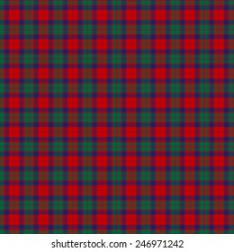 A seamless patterned tile of the clan Fraser of Altyre tartan.