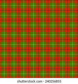 A seamless patterned tile of the clan McAulay tartan.