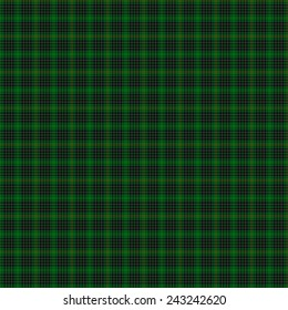 A seamless patterned tile of the clan McAulay Hunting tartan.