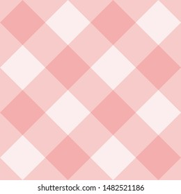 Seamless pink background - checkered pattern or grid texture for web design, desktop wallpaper or culinary blog website