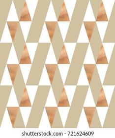 Seamless polygonal pattern. Stylish trendy colors.