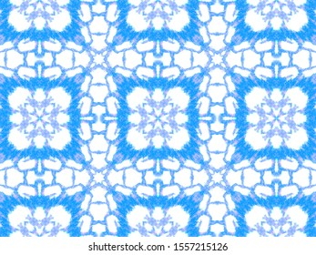 Seamless Predator Pattern. Jungle Exotic Illustration. Blue and White Colors. Cobra Leather Wild Print. Rough Aged Cloth. Watercolor Predator Pattern.