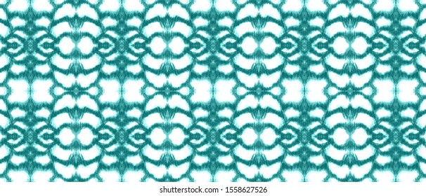 Seamless Predator Pattern. Jungle Wild Background. Alligator Leather Wild Surface. Vintage Blue and White. Ink Textured Fabric. Watercolor Predator Pattern.