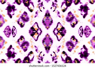 Seamless Predator Pattern. Reptile Leather Wild Print. Wild Zoo Illustration. Magenta and Pink Colors. Ink Textured Cloth. Watercolor Predator Pattern.