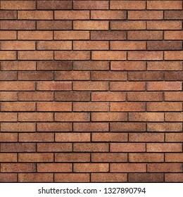 Seamless Red Brick Texture