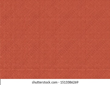 Seamless red fabric, textile texture background.