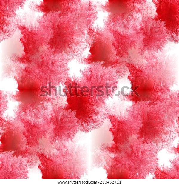 seamless red, white pattern background wallpaper handmade watercolor