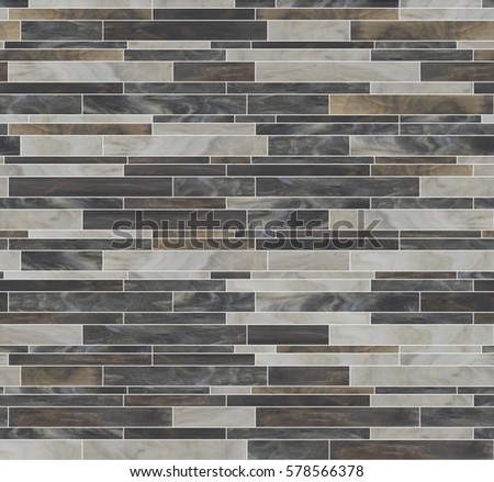 Seamless Running Bond Pattern Mosaic Tiles Stock Illustration Magnificent Running Bond Pattern